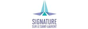 Logo - Signature sur le St-Laurent